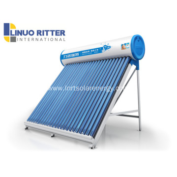 Heat pipe vacuum tube solar water heater