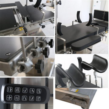 Electric adjustable operating table