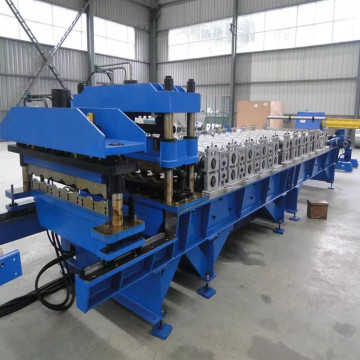 Roof sheet steel rolling machine