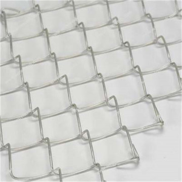 Decoration aluminum clad steel chain link fence