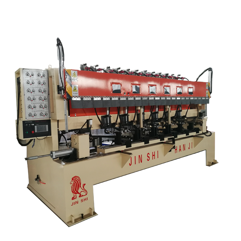 CNC Pulley-clip Scaffolding Vertical Ploe Welding Machine