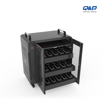 QP charging cart for 30 VR