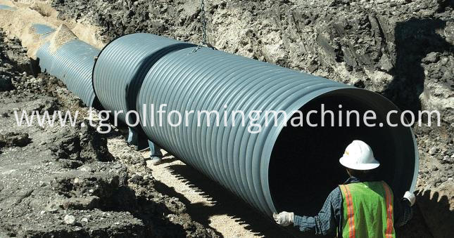 Corrugated Culvert Machine