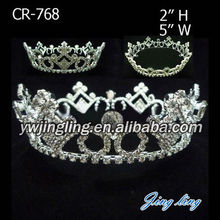 Wholesale Cheap Full Round Pageant Crowns