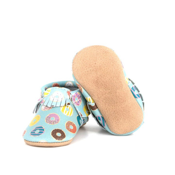 New Arrival European Style 0-2 Years Craft Moccasins