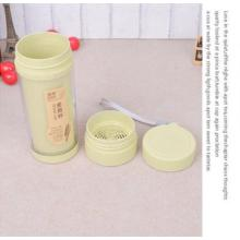 Fashion Double Layer Plastic Water Cup