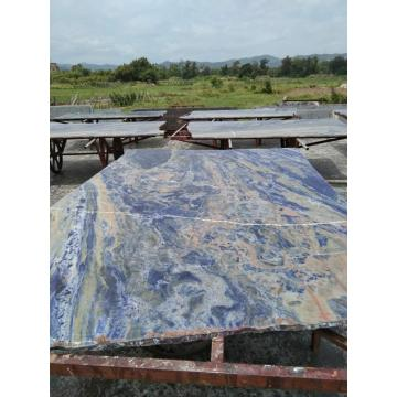 very  blue sodalite slabs