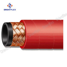 Steel wire braided steam hose