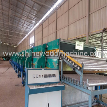 Mix Wood Plywood Veneer Drying Line