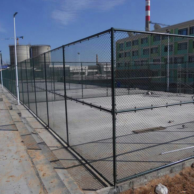 Football field fence