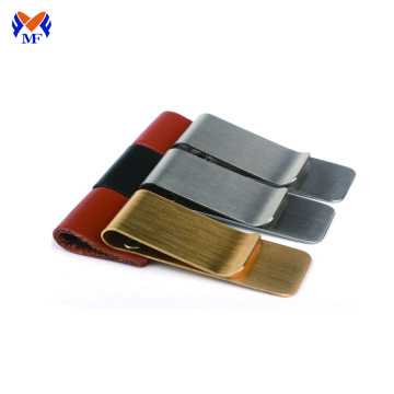 Wholesale luxury stainless steel blank money clip