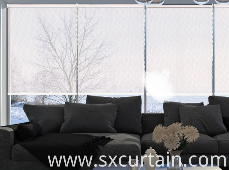 Roller Blind Curtain Blackout Screen