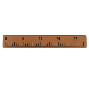 Light Brown & Black Boat EVA Foam Fish Ruler