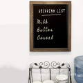 "Rustic Wall 18""x22"" Framed Decorative wood chalkboard marker"