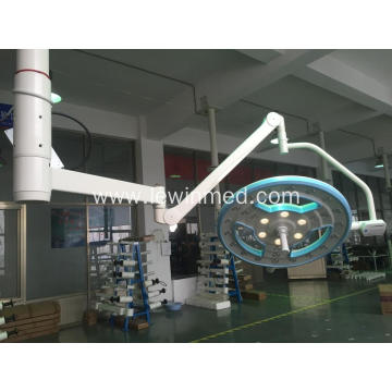 Hollow led single arm operating light