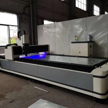 CNC fiber aluminium laser cutting machine