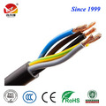 Black or yellow color 2.5mm2 rvv electric cable