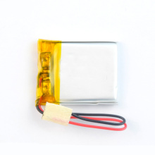 Rechargeable small li-polymer battery for wearable devices