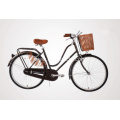 Steel Lugged Frame 26 Inch City Bicycle