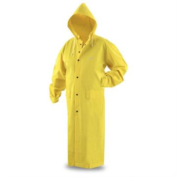 factory Waterproof PVC RainCoat Rain suit With Hood