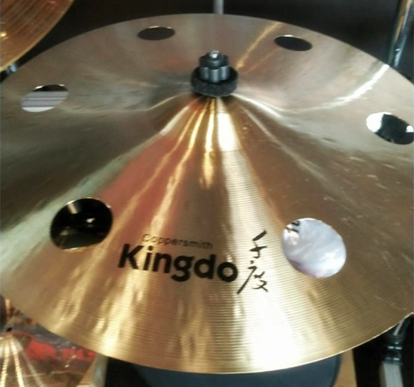18'' Crash Cymbals With Holes