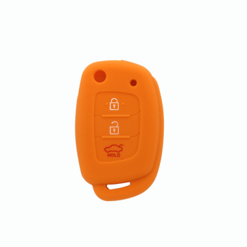 Protective silicone rubber key case for Hyundai