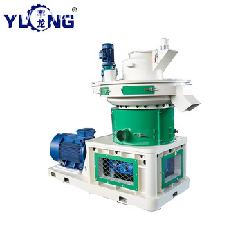 YULONG XGJ560 Grass pellet pelletizing machine