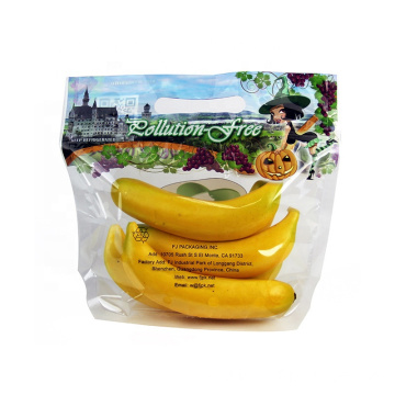 Fruit and Vegetable Packaging Bag With ziplock