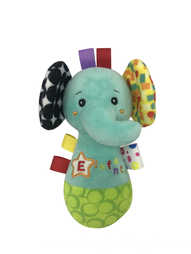 Elephant Rattle Baby Toy