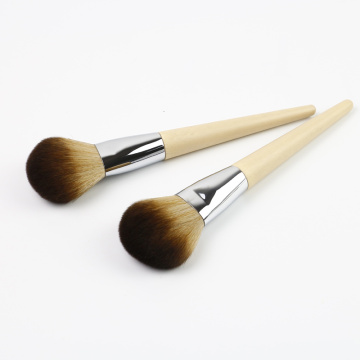 Baboo ukuphatha ubuso powder shayela makeup brush kit