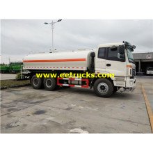 Foton 10 Wheel 15m3 Water Tanker Trucks