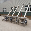 Cereal Grain Screw Auger Elevator