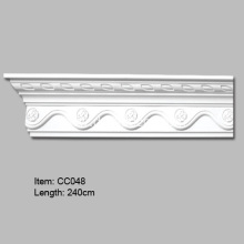 20 Years Factory for Polyurethane Carved Cornice Mouldings Decorative Polyurethane Cornice Molding supply to Japan Importers