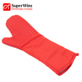 Extra Long Oven Mitts Cooking Heat Resistant Gloves