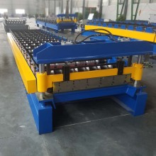 Metal Trapezoidal Roofing Sheet Making Roll Forming Machine