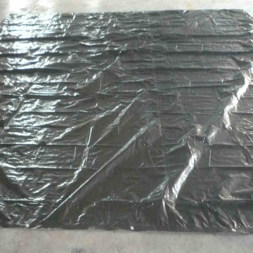 Anti-UV Truck Trailer Tarps Black Tarpaulin