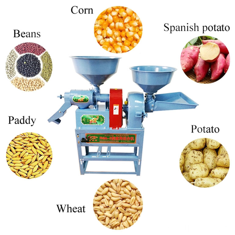 Commercial Electronic Rice Mill Machine Direct Supply