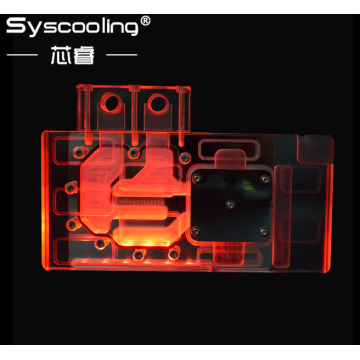 Full Coverage  graphic card RGB Water Block