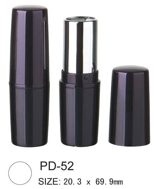 Cylindrical lipstick and lip balm PD-52