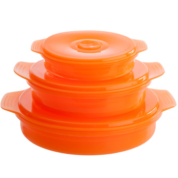Heat Resistant Silicone Food Container Bowl