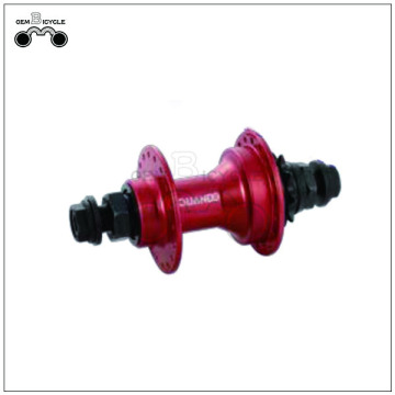 Red internal gear racing carbon bicycle hubs