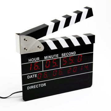 Huge Clap-stick Digital Clock