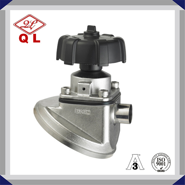 Stainless Steel Welded Tank Bottom Diaphragm Valve