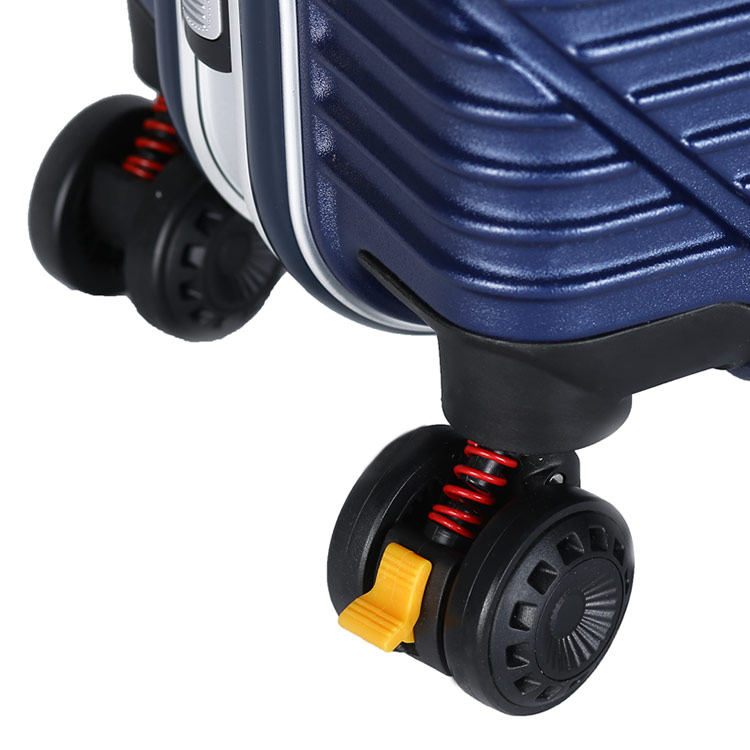 3 pieces PC+ABS trolley suitcase set for travel 13