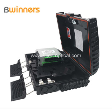 16 Core Outdoor Ftth Fiber Optic Distribution Splitter Box