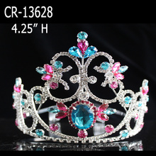 Colored Rhinestone Crowns And Tiaras