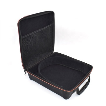 Customized plastic eva carrying case with rubber handle