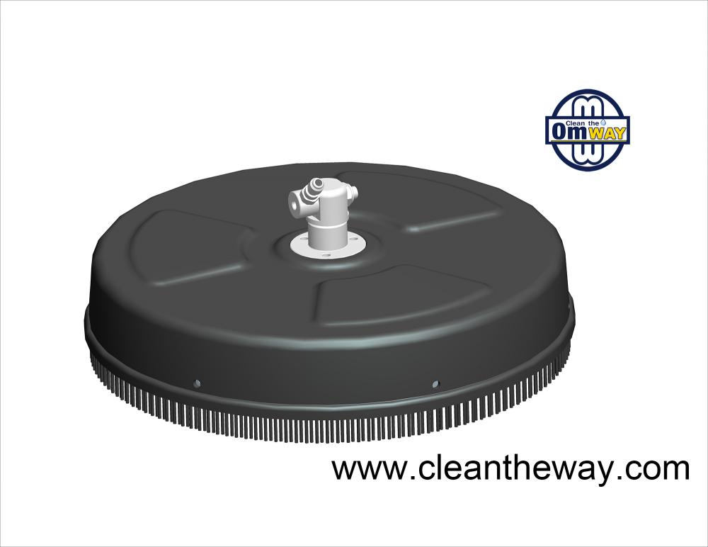 "15"" Plastic Surface Cleaner without wheel"