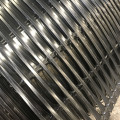 Road Construction Plastic Black PP Uniaxial Grid Geogrid