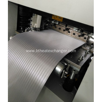 Heat Exchanger Fin Forming Machine-Servo Cutter